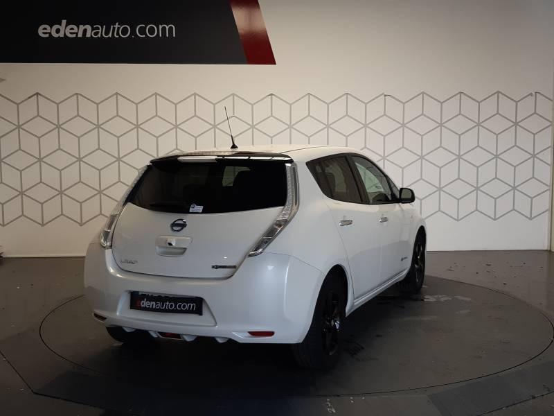 Nissan Leaf 2017 Electrique 30kWh Black Edition Blanc occasion à Tarbes - photo n°2