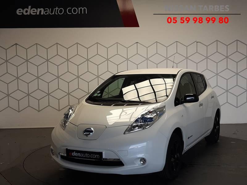 Nissan Leaf 2017 Electrique 30kWh Black Edition Blanc occasion à Tarbes