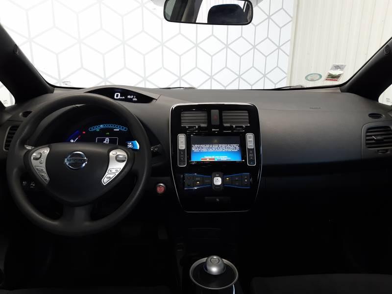 Nissan Leaf 2017 Electrique 30kWh Black Edition Blanc occasion à Tarbes - photo n°9