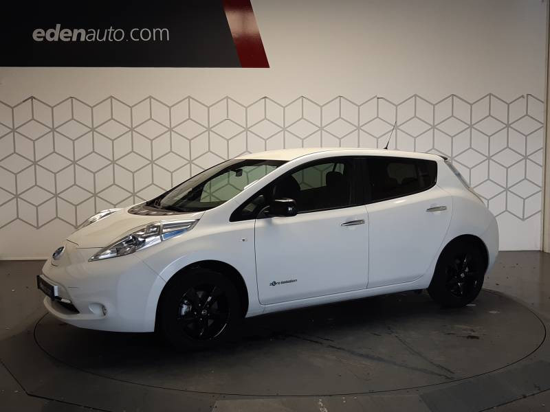 Nissan Leaf 2017 Electrique 30kWh Black Edition Blanc occasion à Tarbes - photo n°3