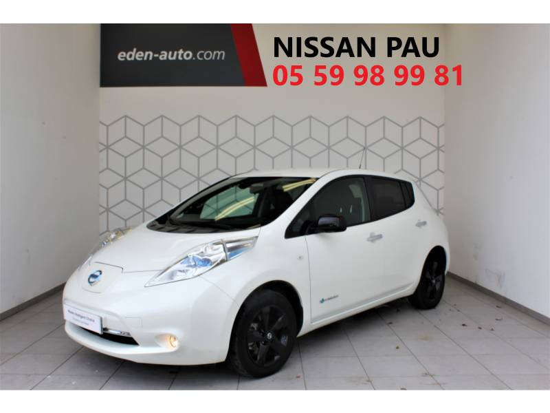 Nissan Leaf 2017 Electrique 30kWh Black Edition Blanc occasion à Lescar
