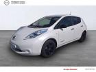 Nissan Leaf 2017 Electrique 30kWh Black Edition Blanc à SAINT-BRIEUC 22