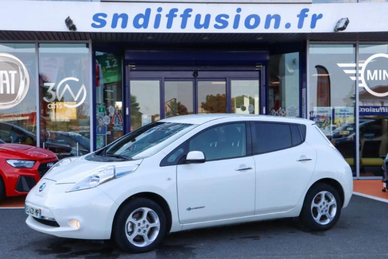 Nissan Leaf 24KWH ACENTA GPS Blanc occasion à Lescure-d'Albigeois