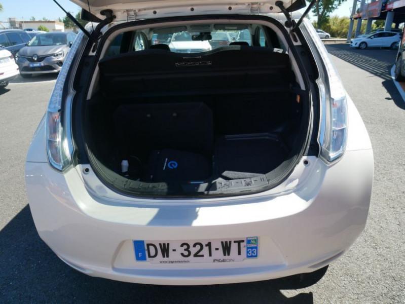 Nissan Leaf 24KWH DESIGN EDITION Panneau Solaire Blanc occasion à Toulouse - photo n°5