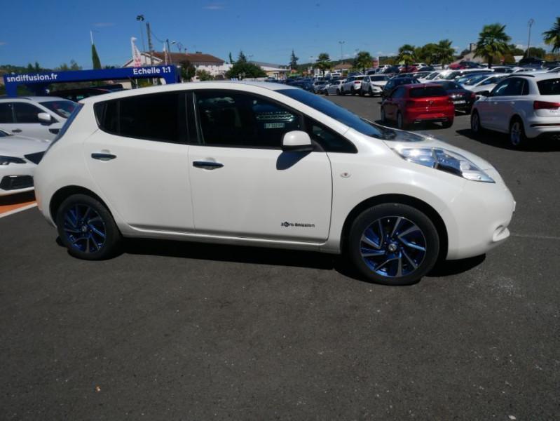Nissan Leaf 24KWH DESIGN EDITION Panneau Solaire Blanc occasion à Toulouse - photo n°9