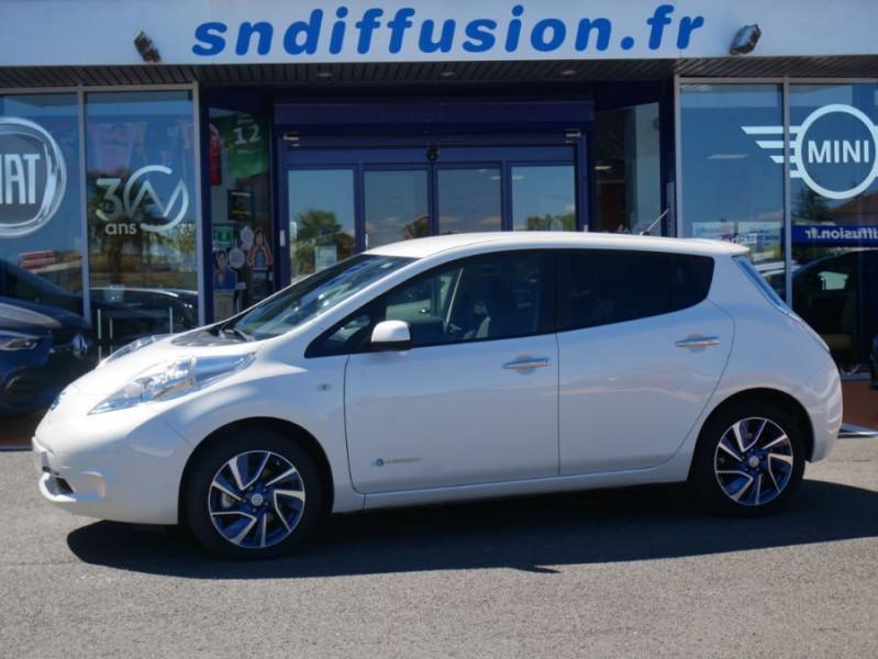 Nissan Leaf 24KWH DESIGN EDITION Panneau Solaire Blanc occasion à Toulouse