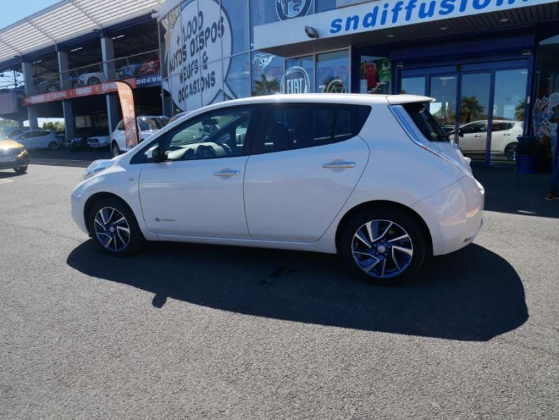 Nissan Leaf 24KWH DESIGN EDITION Panneau Solaire Blanc occasion à Toulouse - photo n°4