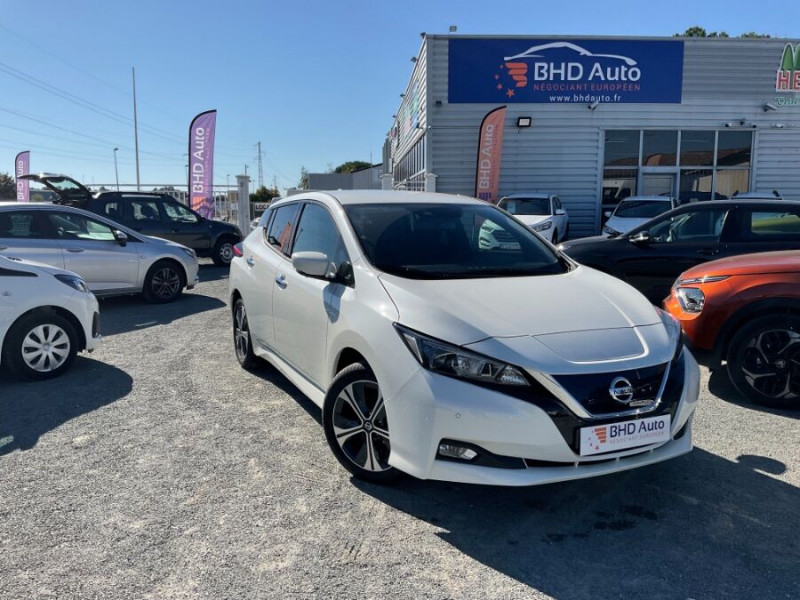 Nissan Leaf occasion 2021 mise en vente à Biganos par le garage BHD AUTO - photo n°1