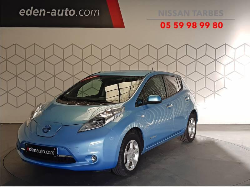 Nissan Leaf Electrique 24kWh Acenta Bleu occasion à Tarbes - photo n°1