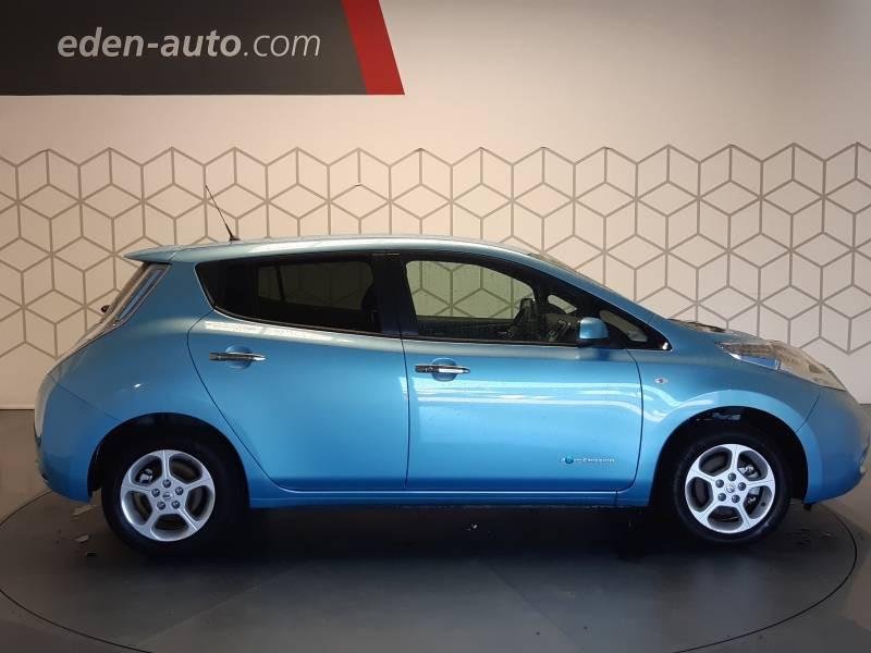 Nissan Leaf Electrique 24kWh Acenta Bleu occasion à Tarbes - photo n°3