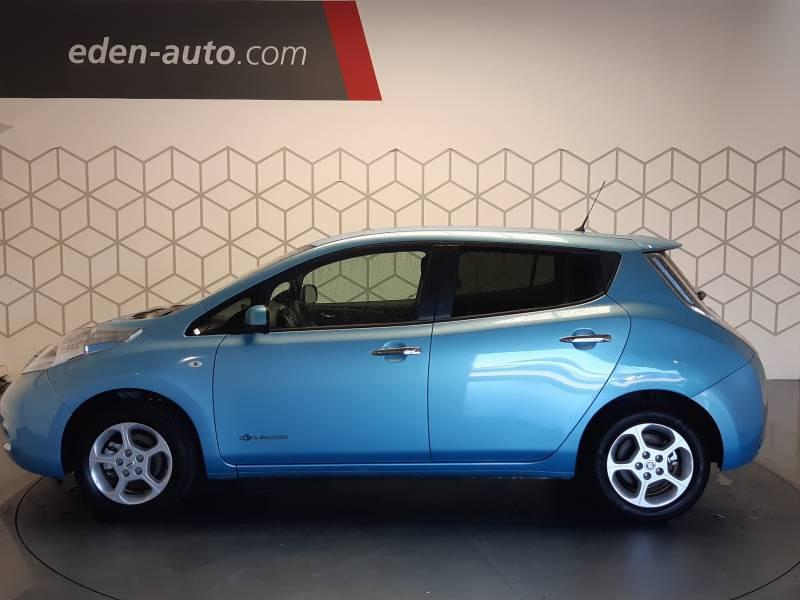 Nissan Leaf Electrique 24kWh Acenta Bleu occasion à Tarbes - photo n°2