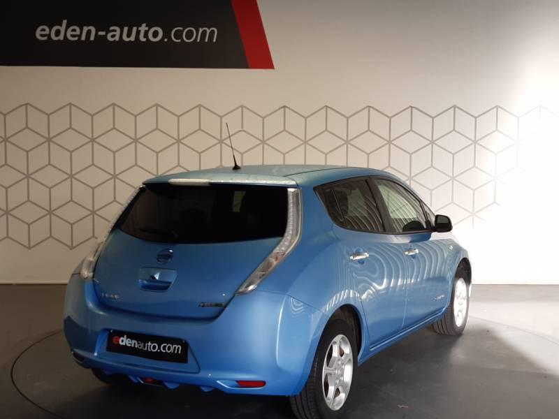 Nissan Leaf Electrique 24kWh Acenta Bleu occasion à Tarbes - photo n°4