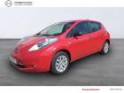 Nissan Leaf Electrique 24kWh Visia Rouge à LANNION 22