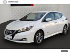 Nissan Leaf Electrique 40kWh Acenta Blanc à Angoulins 17