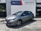 Nissan Leaf Electrique 40kWh Acenta Gris à Langon 33