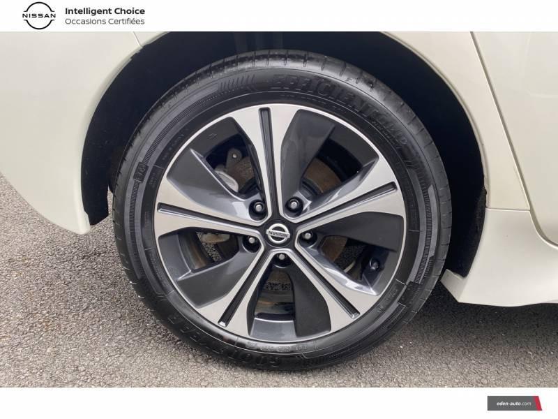 Nissan Leaf Electrique 40kWh Business+ Blanc occasion à Chauray - photo n°5