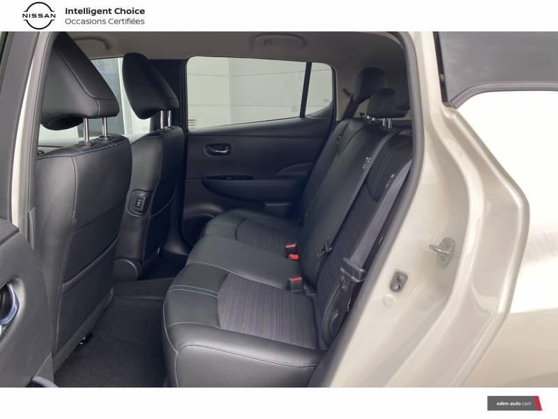 Nissan Leaf Electrique 40kWh Business+ Blanc occasion à Chauray - photo n°14