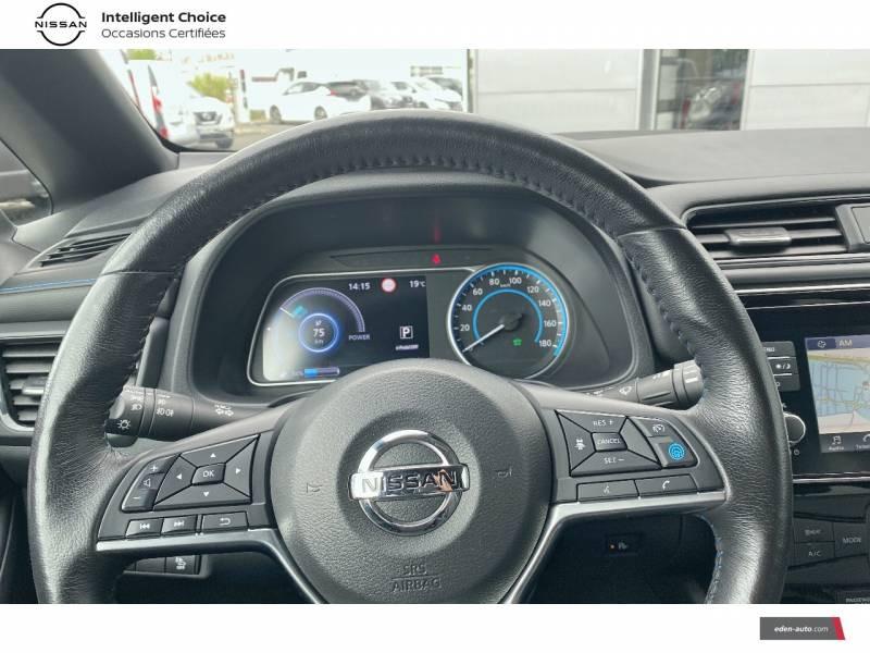 Nissan Leaf Electrique 40kWh Business+ Blanc occasion à Chauray - photo n°12