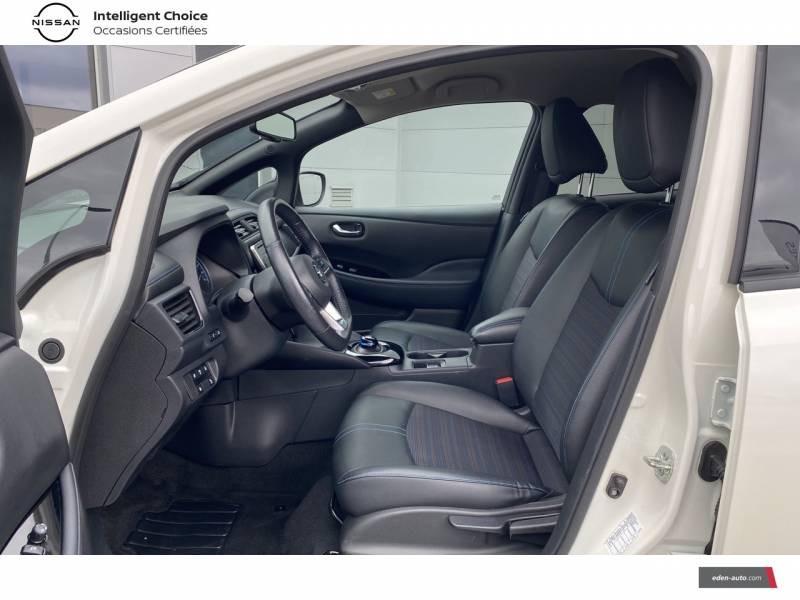 Nissan Leaf Electrique 40kWh Business+ Blanc occasion à Chauray - photo n°6