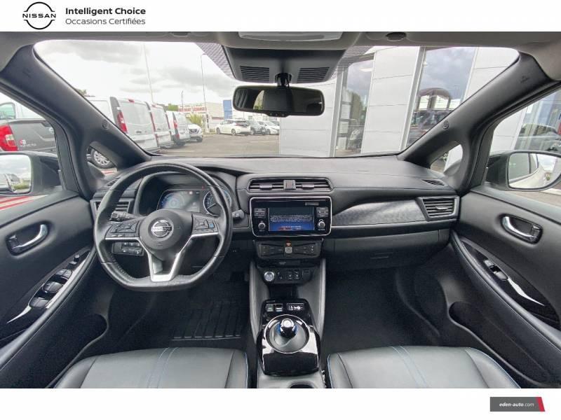 Nissan Leaf Electrique 40kWh Business+ Blanc occasion à Chauray - photo n°9