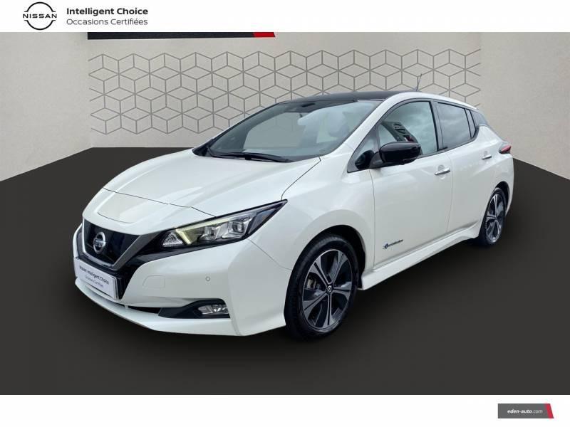 Nissan Leaf Electrique 40kWh Business+ Blanc occasion à Chauray