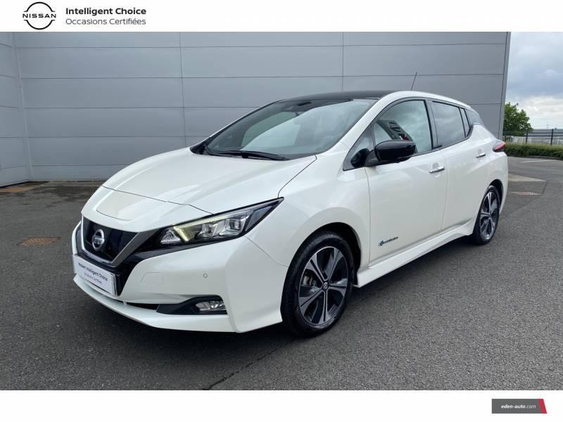 Nissan Leaf Electrique 40kWh Business+ Blanc occasion à Chauray - photo n°20