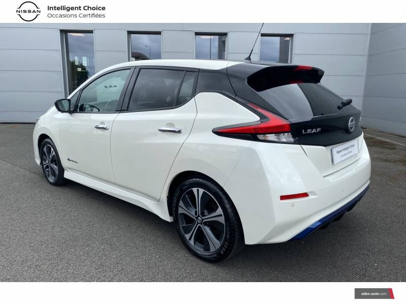 Nissan Leaf Electrique 40kWh Business+ Blanc occasion à Chauray - photo n°7