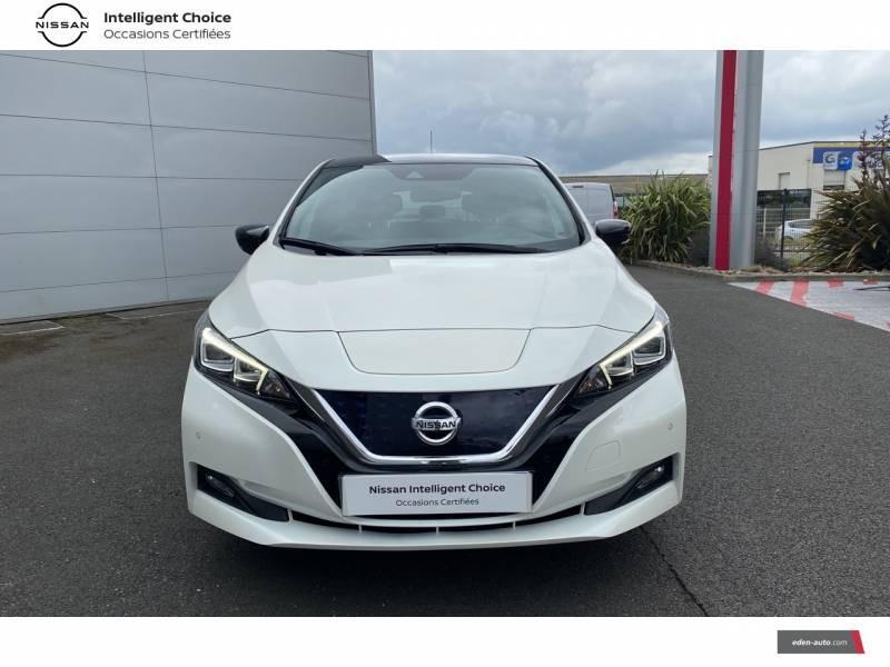 Nissan Leaf Electrique 40kWh Business+ Blanc occasion à Chauray - photo n°2