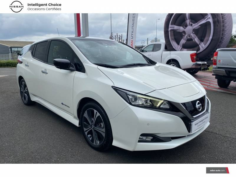 Nissan Leaf Electrique 40kWh Business+ Blanc occasion à Chauray - photo n°16