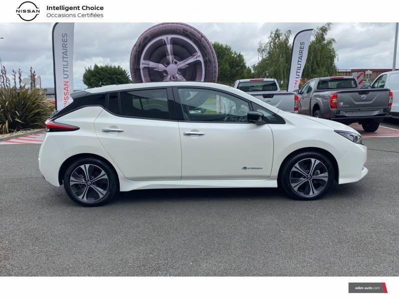 Nissan Leaf Electrique 40kWh Business+ Blanc occasion à Chauray - photo n°8