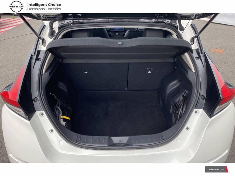 Nissan Leaf Electrique 40kWh Business+ Blanc occasion à Chauray - photo n°15