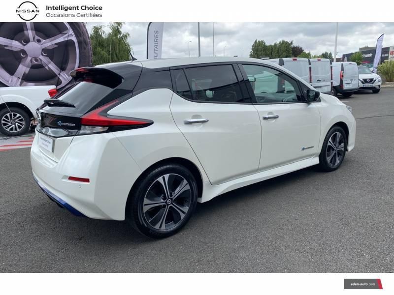 Nissan Leaf Electrique 40kWh Business+ Blanc occasion à Chauray - photo n°17