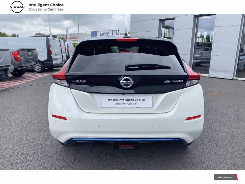 Nissan Leaf Electrique 40kWh Business+ Blanc occasion à Chauray - photo n°4