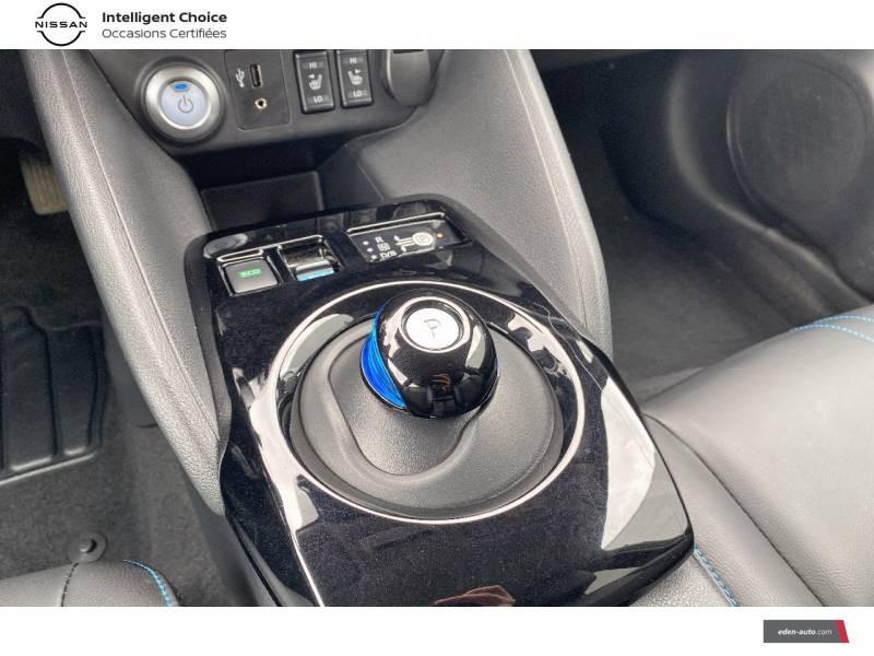 Nissan Leaf Electrique 40kWh Business+ Blanc occasion à Chauray - photo n°13