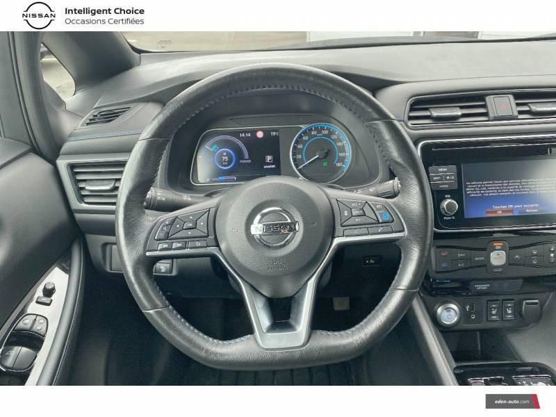 Nissan Leaf Electrique 40kWh Business+ Blanc occasion à Chauray - photo n°10