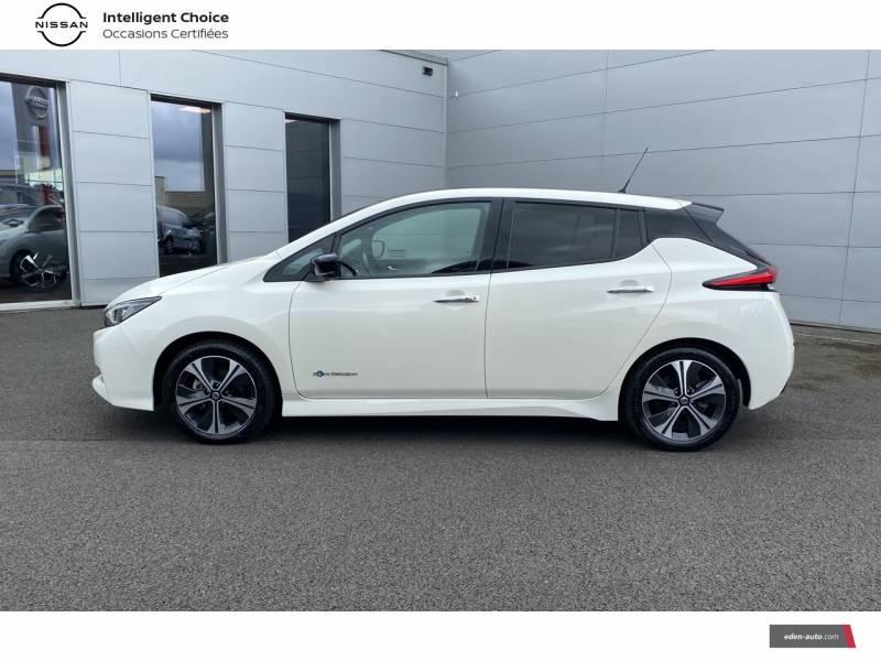 Nissan Leaf Electrique 40kWh Business+ Blanc occasion à Chauray - photo n°3