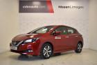 Nissan Leaf Leaf Electrique 40kWh Acenta 5p Rouge à Limoges 87