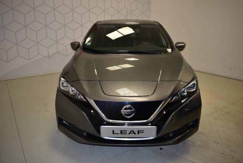 Nissan Leaf Leaf Electrique 40kWh Tekna 5p Gris occasion à Limoges - photo n°7
