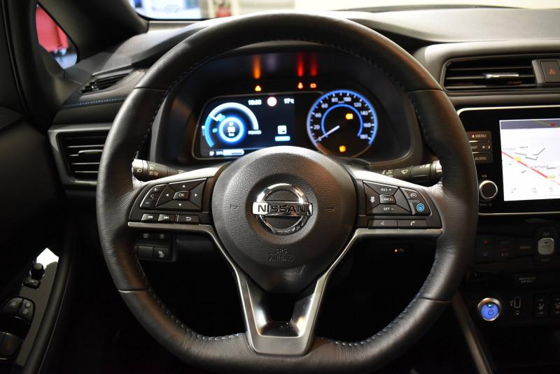 Nissan Leaf Leaf Electrique 40kWh Tekna 5p Gris occasion à Limoges - photo n°5