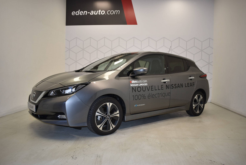 Nissan Leaf Leaf Electrique 40kWh Tekna 5p Gris occasion à Limoges