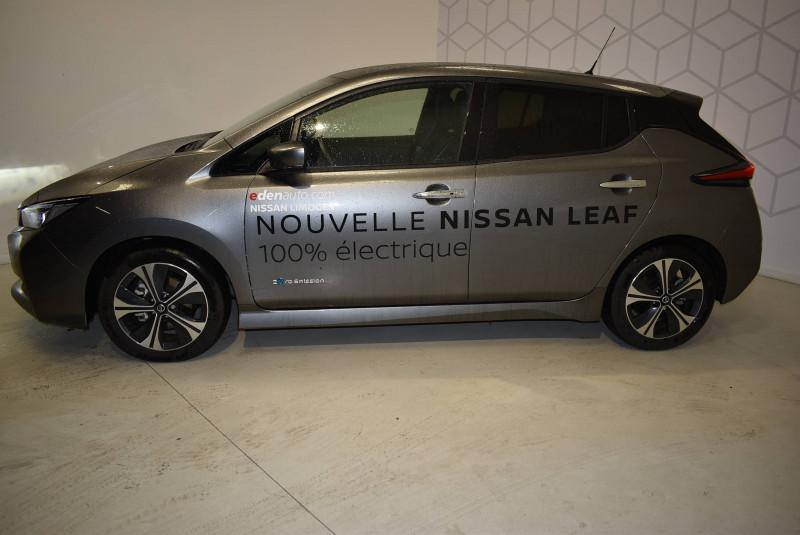 Nissan Leaf Leaf Electrique 40kWh Tekna 5p Gris occasion à Limoges - photo n°2