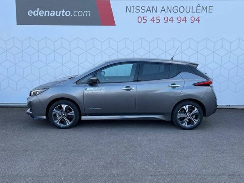 Nissan Leaf Leaf Electrique 62kWh Tekna 5p Gris occasion à Champniers - photo n°2