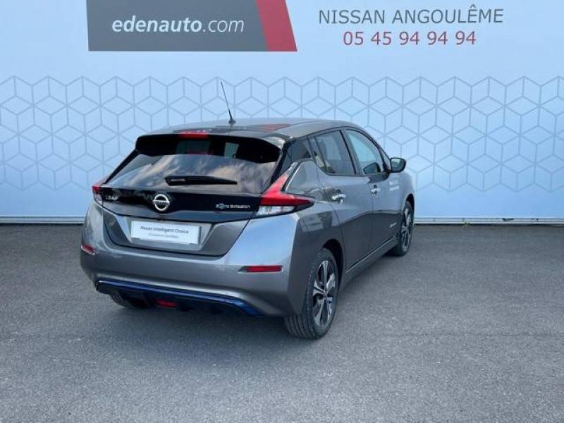 Nissan Leaf Leaf Electrique 62kWh Tekna 5p Gris occasion à Champniers - photo n°11