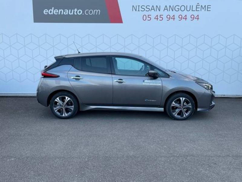 Nissan Leaf Leaf Electrique 62kWh Tekna 5p Gris occasion à Champniers - photo n°4