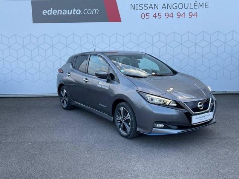 Nissan Leaf Leaf Electrique 62kWh Tekna 5p Gris occasion à Champniers - photo n°12