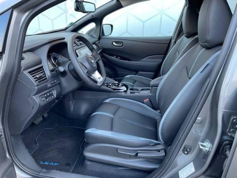 Nissan Leaf Leaf Electrique 62kWh Tekna 5p Gris occasion à Champniers - photo n°7