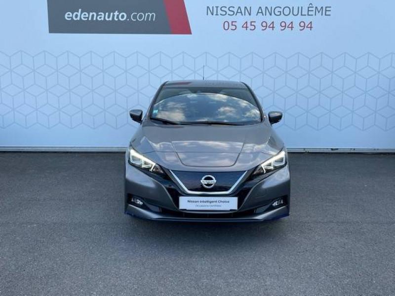Nissan Leaf Leaf Electrique 62kWh Tekna 5p Gris occasion à Champniers - photo n°5