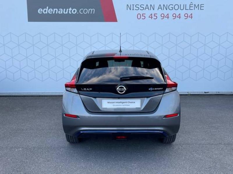 Nissan Leaf Leaf Electrique 62kWh Tekna 5p Gris occasion à Champniers - photo n°9