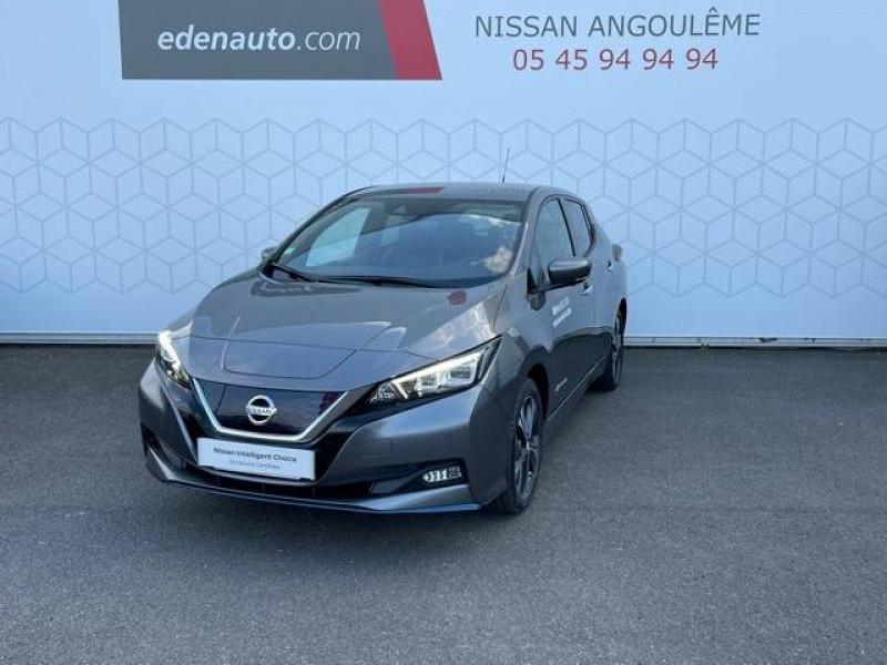 Nissan Leaf Leaf Electrique 62kWh Tekna 5p Gris occasion à Champniers