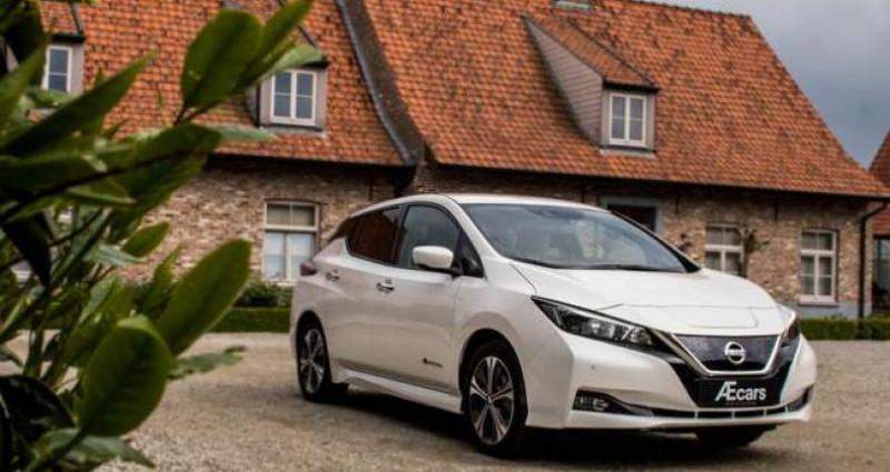 Nissan Leaf N-CONNECTA - 40KWH - BELGIAN CAR - 1 OWNER Blanc occasion à IZEGEM - photo n°3